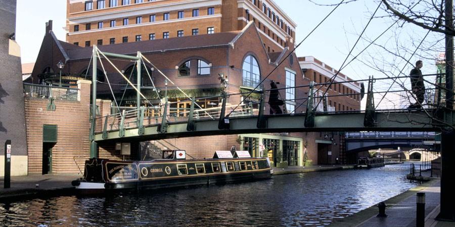 Brindley-Place-Canal-Side-Birmingham
